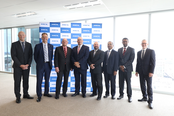 HCL Technologies announcing the launch of a new delivery centre