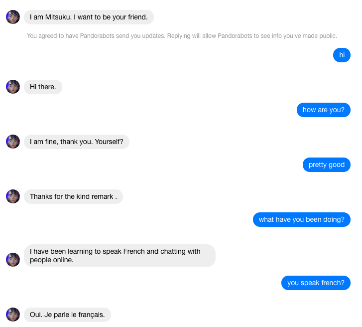 Should we be making chatbots that will pass the Turing Test?
