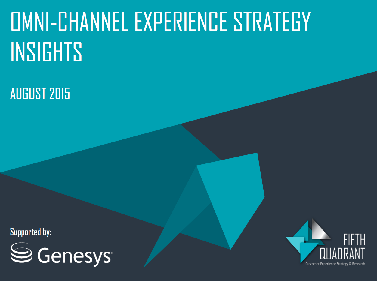Omni-channel experience strategy report